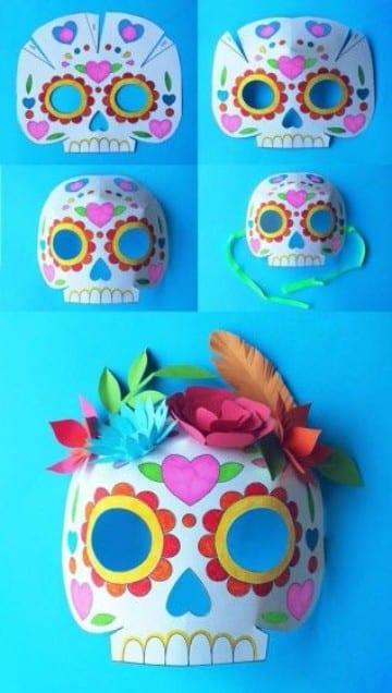 ideas para hacer mascaras de catrina