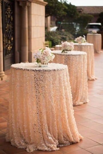 manteles elegantes y originales en blanco