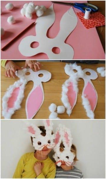 mascaras para niños de primaria paso a paso