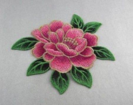 parches de flores para ropa pequeños