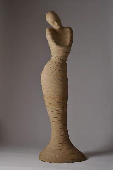piezas de ceramica para pintar mujer