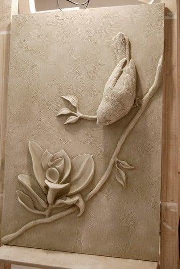 piezas de ceramica para pintar naturaleza