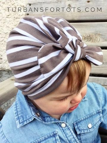tutorial de como hacer turbantes para bebes