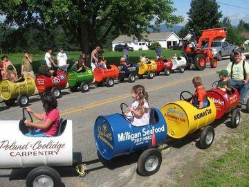 carros de reciclaje para niños de metal
