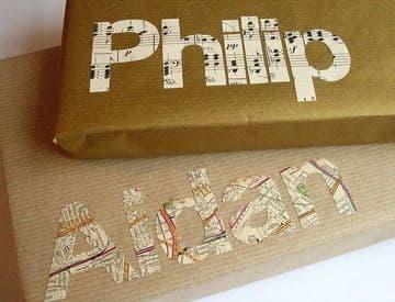 como adornar una caja de regalo original