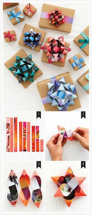 como adornar una caja de regalo para cumpleaños