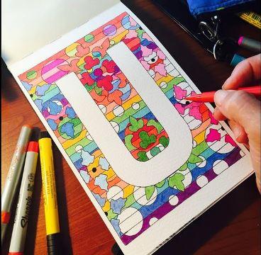 como decorar las hojas de mi cuaderno a mano