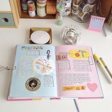 como decorar las hojas de mi cuaderno por dentro