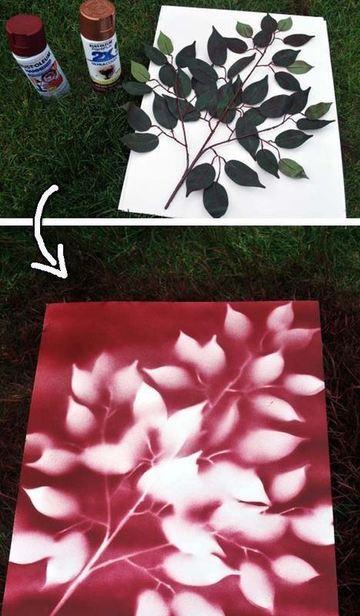 como hacer cuadros decorativos modernos faciles