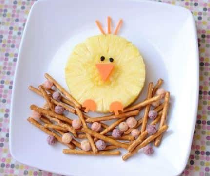 decoracion de frutas para niños faciles de hacer