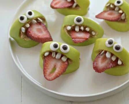 decoracion de frutas para niños