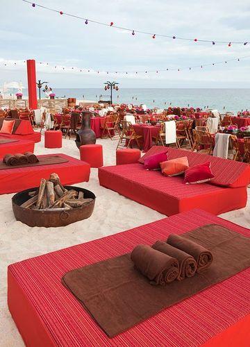 decoracion de playa para fiestas de boda