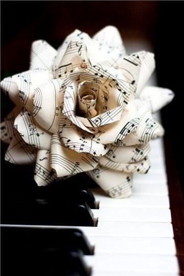 figuras con hojas de papel