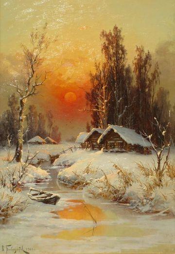 imagenes de pinturas de paisajes tradicionales