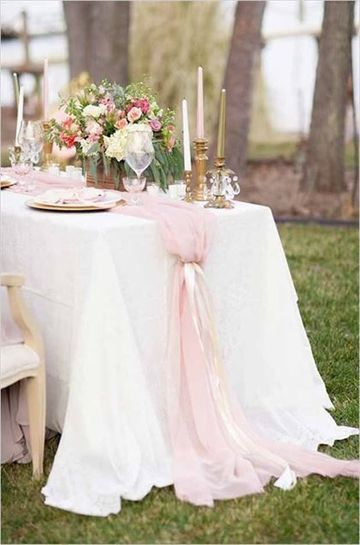 manteles para decorar mesas elegante