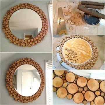 manualidades con madera paso a paso madera reciclada