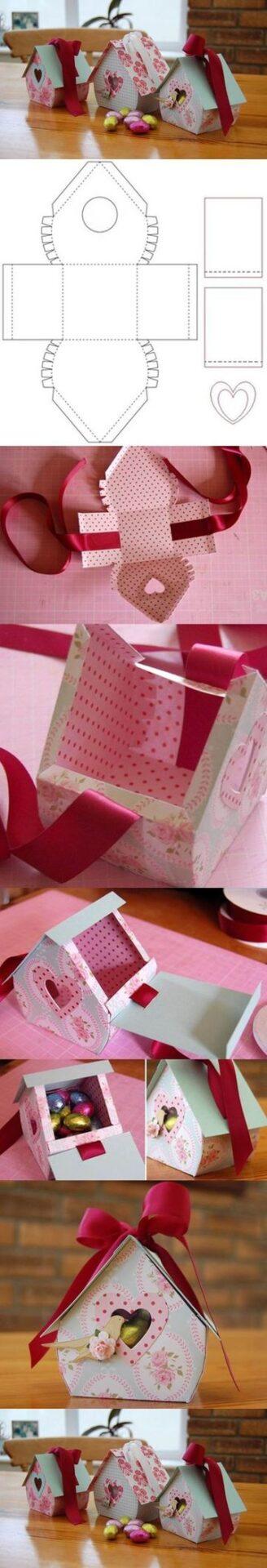 moldes de cajas para chocolates