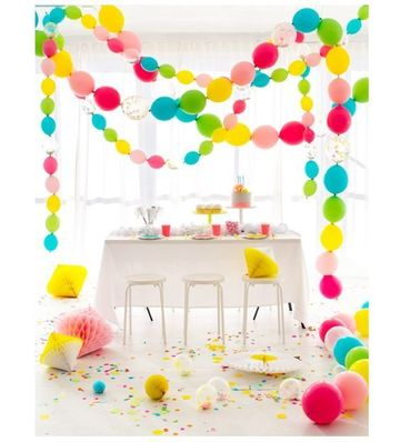 adornos de fiestas infantiles en casa