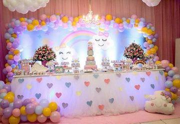 adornos de fiestas infantiles para niñas