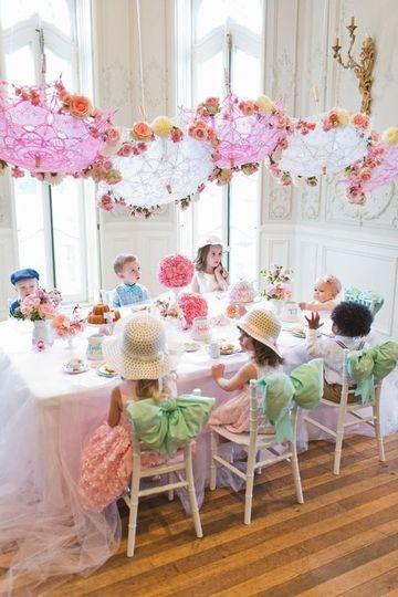adornos de fiestas infantiles vintage