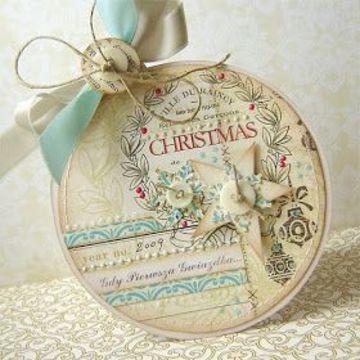 adornos navideños con cd viejos para el arbol