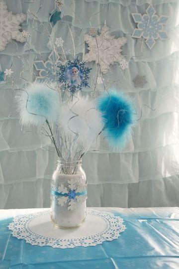 arreglos para fiesta de frozen en casa