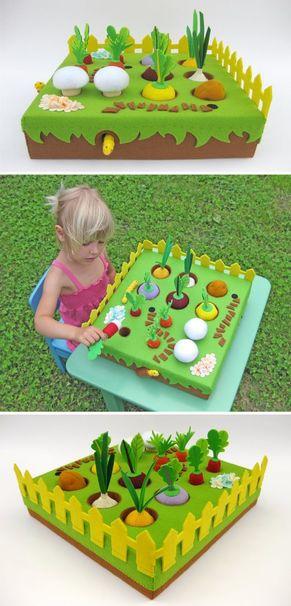 cajas de carton decoradas para niños juego
