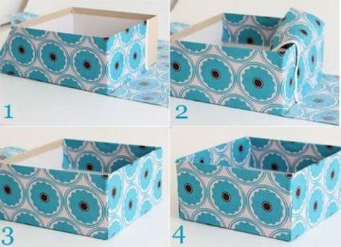 Diseños De Cajas De Carton Decoradas Paso A Paso