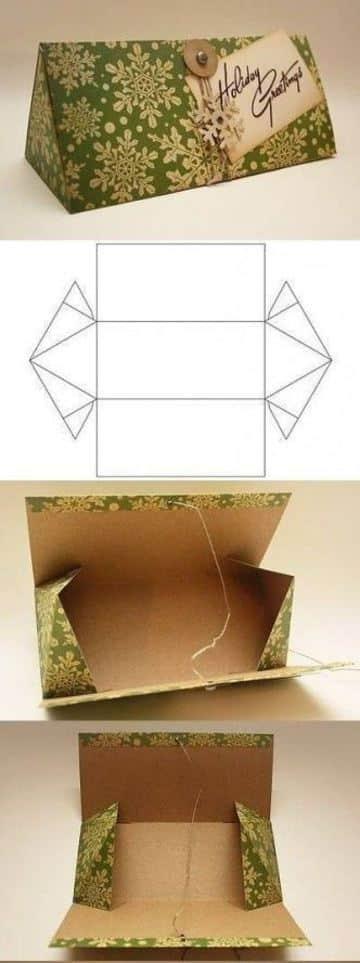 cajas de carton decoradas paso a paso original