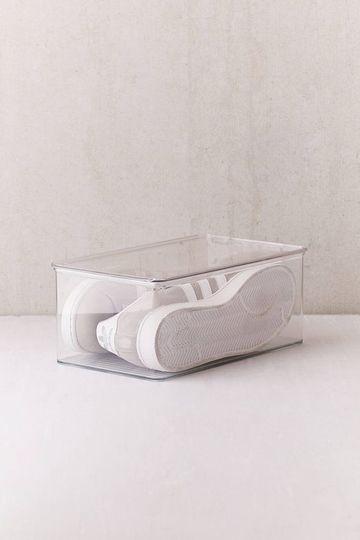 cajas transparentes para zapatos para almacenar