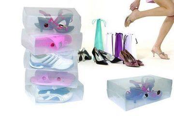 cajas transparentes para zapatos utiles