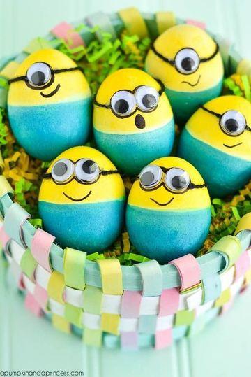 canastas para huevos de pascua de goma eva