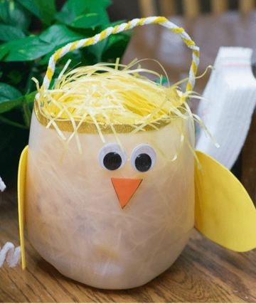 canastas para huevos de pascua facil de hacer