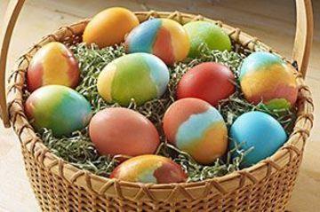 canastas para huevos de pascua tradicional
