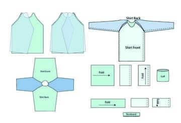 como hacer pijamas paso a paso camisa