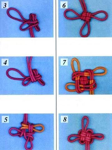 como hacer pulseras chinas con cordones