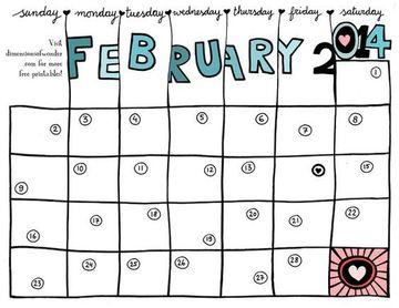 como hacer un calendario a mano facil