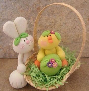 decoracion huevos de pascua con glase hermosos