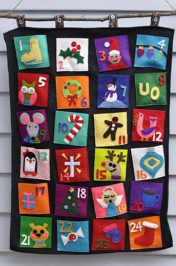 imagenes de calendarios para niños de tela