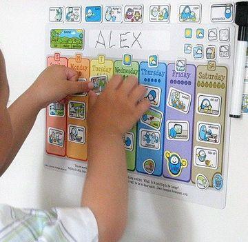 imagenes de calendarios para niños faciles