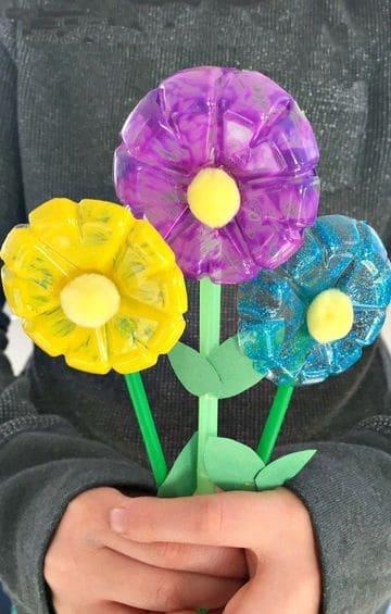proyectos de reciclaje faciles con botellas de plastico