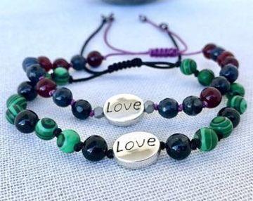 pulseras para parejas hechas a mano faciles