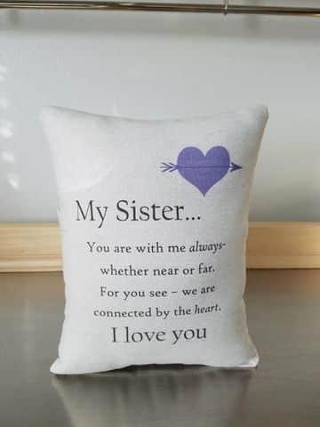 regalos para hermanas hechos a mano con estampado