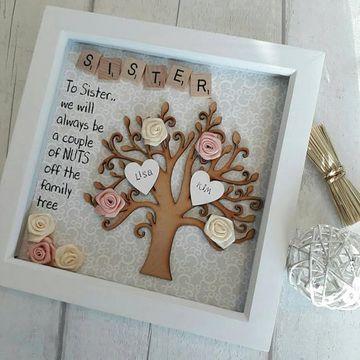 regalos para hermanas hechos a mano con madera