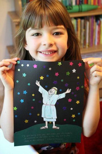 trabajos manuales para niños cristianos de 5 años