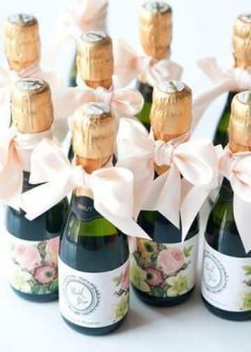 botellitas de vidrio para souvenirs de bodas