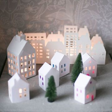 casas para armar de papel para maquetas