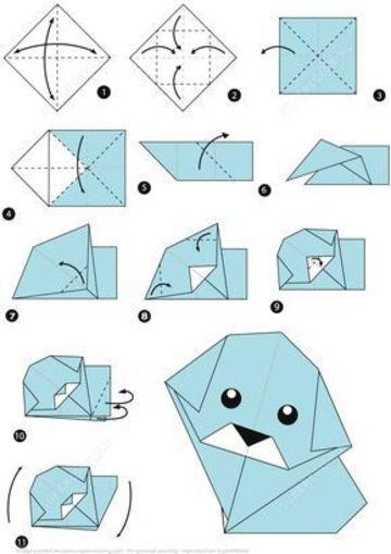 como hacer animalitos de papel paso a paso