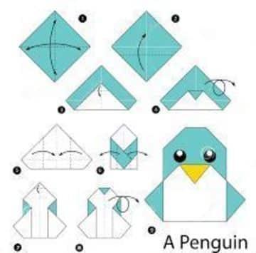 como hacer animalitos de papel sencillos