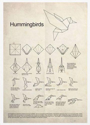 como hacer figuras de papiroflexia de ave